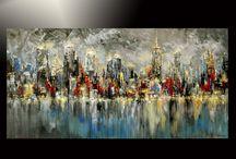 Abstrakt city