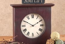Country Clocks / Each clock is carefully handcrafted in the USA.