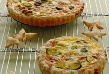 Food: torte salate + finger food