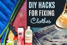 Fixing clothes