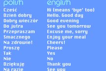 Polish is my mother tongue