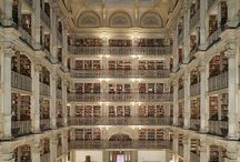 Most Beautiful Libraries / Beautiful libraries around the world.