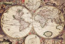 maps of existing and nonexistent worlds