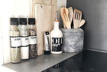 Kjøkken organisering