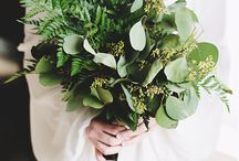 Wedding Theme: Green Organic Wedding / Inspiration and ideas for a wedding with a natural vibe!