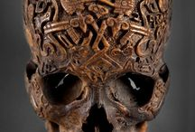skulls & skeletons. / by Beckie O'Beckie