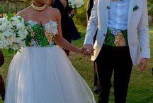 Morden traditional wedding dresses