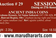 MarudharArts e-Auction-29 / Marudhar Arts e-Auction-29 is live! Bid Now Browse through various categories from Ancient India to Present. Category Highlights - Ancient India Coins >> http://marudhararts.com/e-auction-master-categories/ancient-india-coins/230.html