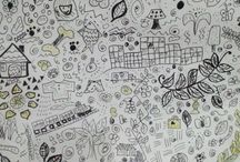 art,  my creation / mencoba  berkreasi