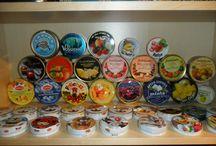 Productos alimentos Colecciones / Productos, cajas, botellas, tapones, etc. de un producto concreto o grupo de productos