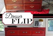 Furniture Flip Ideas / Inspiration for future flips! / by Lori Fields