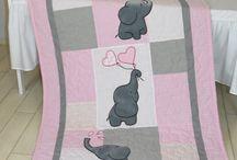 Детские одеяла-пэчворк