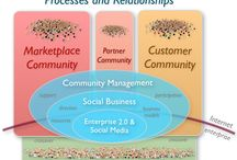Social Business Evolution / Pins to Social Business, Collaboration and Social Media