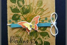 Stampin Up 2014-15 Annual Catalogue / New Card Designs using new products
