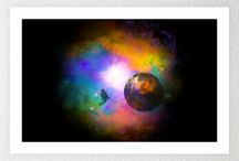 Space / Space Art -  infinity and beyond.