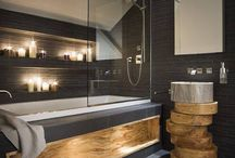 Bathroom inspiration / Clean, modern, japanese inspired styles