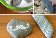 Carving stones Dremel