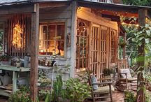 A She-Shed, a retreat, a woman's cozy den!