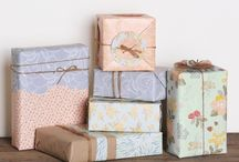 Wrapping paper / Beautiful patterned wrapping paper