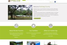 Resorts and Homestays / We have designed and developed websites for many resorts and homestays www.weberge.com