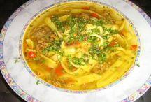 Soups - Egg, Flaedle