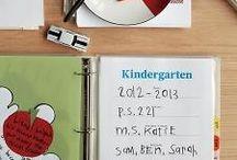 Preschool Scrapbook