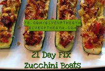 21 day fix recipes / by Erica Gayle
