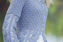 blusas e tunica ou capa