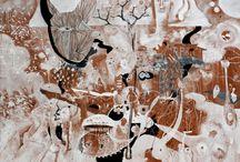 Salvador Luna / Uruapan, Michoacán 1968  Arquitecto, realizó estudios de pintura con Ramiro Torreblanca, Guadalajara Jalisco y en la Escuela de Bellas Artes El Nigromante en San MIguel de Allende, Guanajuato. Estudió pintura con Antonio Lopez, Litografìa con Margarita Orozco y Escultura con Lothar Kestembaum.