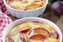 Clafoutis aux fruits.