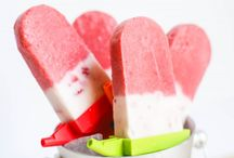 Fun & Healthy Iced Edibles / Easy and fun ways to make frozen healthy treats that are perfect for hot and sunny days or any time you like.