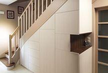 Escalier/Placard