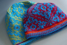 Crochet or knit hats and sets / by Pia Kavén-Bailey