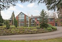 Outstanding detached House for sale Alderley Edge, Cheshire SK9 7BL / Alderley Edge, Cheshire SK9 7BL  An outstanding contemporary house sitting in an elevated position within walking distance of Alderley Edge village. 5,401 sq ft (501 sq m).  Guide price: £1,995,000