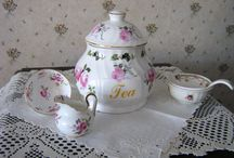 Tea Time / It always time for a cup of tea, scones, cakes and savory bites