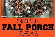 I Heart My Eclectically Fall Home / All things fall in my home. Decor, crafts, centerpieces, recipes and more to inspire your fall decorating. / by Eclectically Vintage