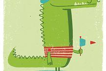 awesome illustration -animals