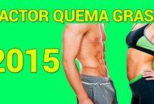 Factor Quema Grasa / El mejor sistema para adelgazar.