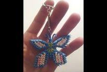 3d origami sleutelhanger