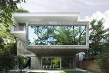 Concrete House - Toronto / Architect: Angela Tsementzis http://www.atarch.ca/