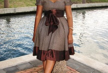 mix shweshwe dress
