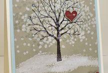 Stampin up Karten Winter