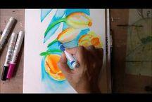 tekenen en schilderen, stap voor stap