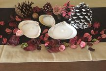 Seashell tealight candles for charity