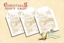 Christmas - Tags / by Gwen Gooda