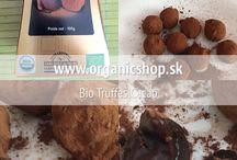 Organic chocolate / Bio organic raw chocolate pralines