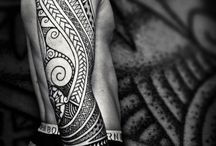 Maori Tattoos / Maori tattoos were just worn by a number of people who belonged to certain tribes... http://fabulousdesign.net/maori-tattoos/