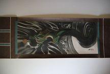 Hanging Scrolls. Mythology / History