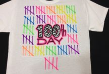 100 Days of School / Do you need a 100 Days of School shirt? It's the perfect time to use your Silhouette Machine. Share with us your creations using #proworld