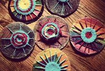 Circle weaving craft ideas